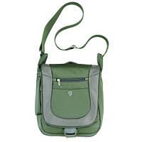 Сумка через плечо Sumdex PJA-645GT цвет серо-зеленая