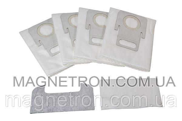 Комплект мешков HEPA (4шт) Hygiene Bag 99 + 2 фильтра для пылесоса Thomas 787246, фото 2