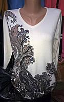 Модная женская кофта из кашемира