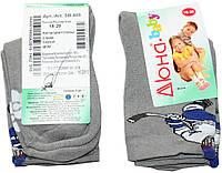 Носки для мальчика, махровые серые, р. 18-20, Дюна