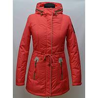 Отличная демисезонная куртка парка женская