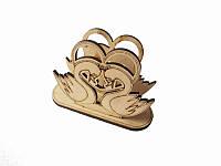 Салфетница Лебеди  (Cалфетницы из дерева )