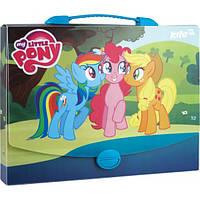 Портфель-бокс А4 KITE Little Pony LP15-209K пластиковый