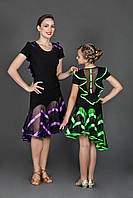 Танцевальная юбка для латино-американских танцев. «Барбариска»
