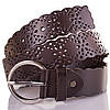 Женский кожаный ремень ETERNO (ЭТЕРНО) ETS6146 коричневый