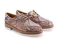Туфли бежевые женские