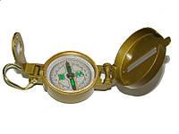 Металлический компас с крышкой d-50мм DC45-3-1606 (золотой)