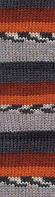 Пряжа для ручного вязания Alize Burcum ÇİZGİ (акрил) серо-коричневый