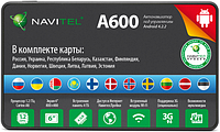 GPS навигатор Navitel A600 (СНГ+Европа)