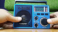 Радио MP3/SD card/USB/AUX Kasung Ks-369 + фонарик Мощный звук Радиоприемник Kasung Ks-369 FM SW 1 SW 2 AM