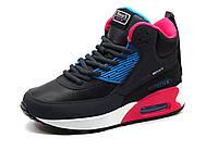 Кроссовки BaaS Adrenaline,  женские, высокие, черные/ розовые, фото 1