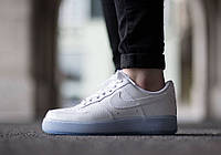 Мужские/женские кроссовки WMNS Nike Air Force 1 Low White Ice Prem White (616725-103)