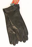 Перчатки с натуральной кожи в черном цвете, фото 1