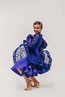 Рейтинговые платья для бальных танцев с регилином «Престиж»
