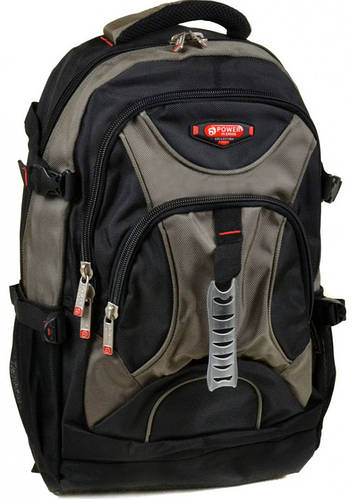 Практичный  городской рюкзак из нейлона Power In Eavas 32 л. 8706 dark-green, темно-зеленый