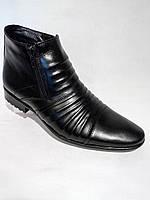 Мужские классические ботинки кожаные