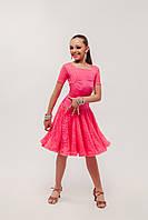 Рейтинговое платье с регилином ( бейсик ) «Болеро»