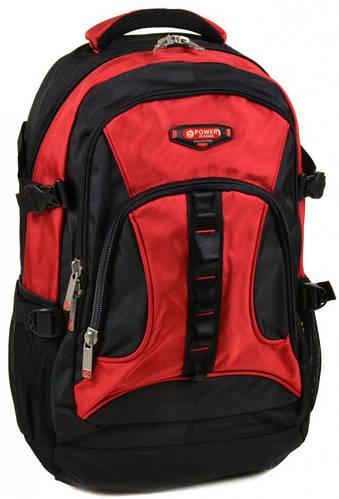 Модный городской рюкзак из нейлона Power In Eavas  45 л. 8701 red, красный