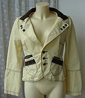 Жакет женский модный молодежный пиджак хлопок бренд Diesel р.46-48