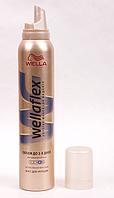 Мусс для укладки волос Wellaflex Wella Объем до 2-х дней, экстрасильной фиксации, № 4 GIL  /05-82 N