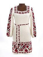 Платье-вышиванка вязаное | Плаття-вишиванка вязане