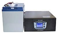 Комплект резервного питания ИБП Luxeon UPS-1500ZY + АКБ LX12-100G 100Ah для 7-12ч работы газового котла