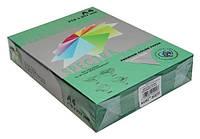 Бумага цветная для принтеров 500 листов А4 80 г/м2  SPECTRA темная Asparagus 41А зеленый