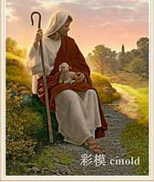 """Набор для алмазной мозаики """"Иисус с ягненком"""""""