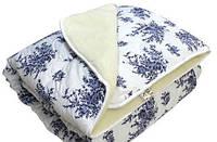 Одеяло полуторное меховое, с плотность 200 г/м.кв, ткань бязь.(арт.МБ1)