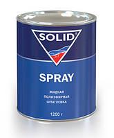 Шпатлевка Solid  Spray жидкая,  1 л