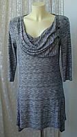Платье женское модное трикотаж вискоза мини бренд Per Una р.46-48