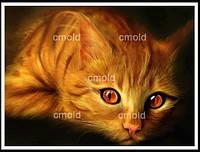 """Набор для алмазной мозаики """"Рыжий кот"""""""