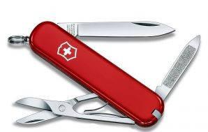 Армейский компактный нож Victorinox Ambassador 06503 красный