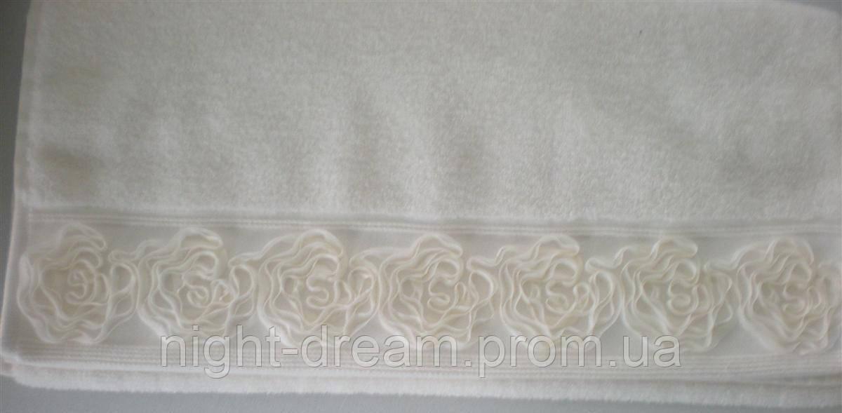 Махровые полотенца 30х50 Gul от Eke Home кремовое