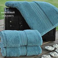 Махровое полотенце 50х90 MASAL от Eke Home бирюзовый