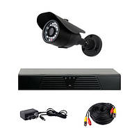 Комплект AHD видеонаблюдения на 1-у уличную камеру CoVi Security ADH-1W KIT