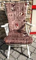 Мебель бу из Европы, кресло дубовое после реставрации.