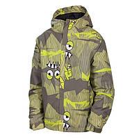 Термо куртка зимняя с системой роста на мальчика