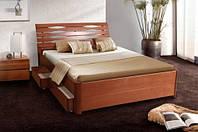 Кровать Мария Люкс сящиками выдвижными двуспальная (1,6)