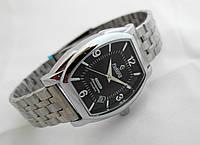 Механические часы РЕКОРД classic, автозавод, цвет корпуса серебро