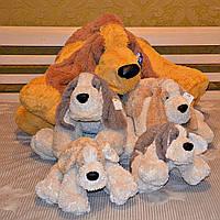 Мягкая игрушка собака Бассет 120 см