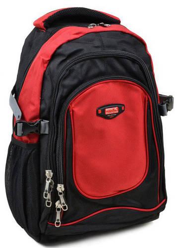 Молодежный городской рюкзак из нейлона Royal Mountain 20 л 9709 red, красный