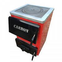 Carbon КСТО-10 П котел твердотопливный с варочной поверхностью (плитой)