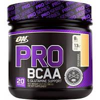 BCAA - Лейцин, Изолейцин, Валин Optimum Nutrition Pro bcaa 390 г  малиновый лимонад