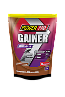 Гейнеры Power Pro Gainer Amino+BCAA 1000 г  шоколад