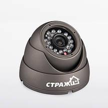 Комплект проводного видеонаблюдения Страж AHD Старт , фото 3