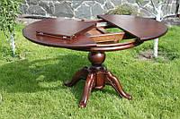 Стол для гостиной комнаты, дубовый (шоколадный)