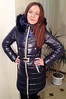Молодежная удлиненная зимняя куртка, разные цвета