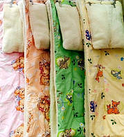 Одеяло + подушка меховые