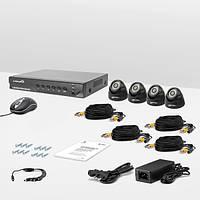 Комплект проводного видеонаблюдения Страж AHD Бюджет, фото 1